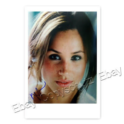 Meghan Markle - Actress TV-Series Suits - Autogrammfotokarte laminiert [K1]