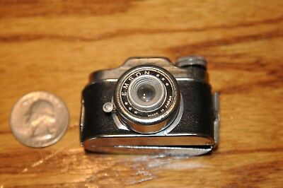 Vintage Unusual Name 'Emson' Subminiature  Camera Made In Japan Spy Film Camera.