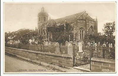 POSTCARDS-SCOTLAND-LADYKIRK-PTD. Ladykirk Church from The East.