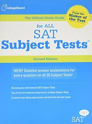 The Official Study Guide for All SAT Subject Tests-College Board