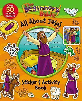 The Beginners Bible All About Jesus Sticker and Activity Book-Zondervan