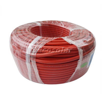3M Red Copper Welding Cable 35mm² (2AWG) Leads for Car Boat RV Home Hut