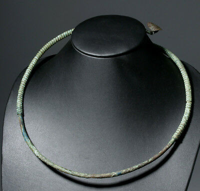 ARTEMIS GALLERY 10th C. Viking Bronze Neck Torq
