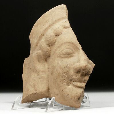 ARTEMIS GALLERY Archaic Greek Pottery Head Protome Fragment - Female