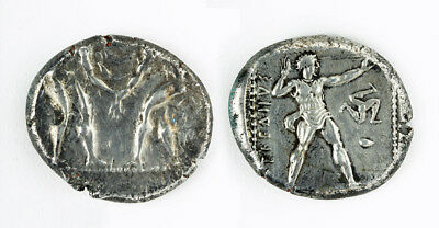 ARTEMIS GALLERY Aspendos, Pamphylia Silver AR Stater, 10.87 grams