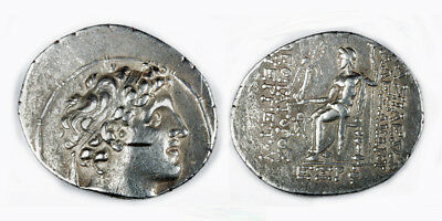 ARTEMIS GALLERY Choice Silver Tetradrachm from Syria - Alexander I