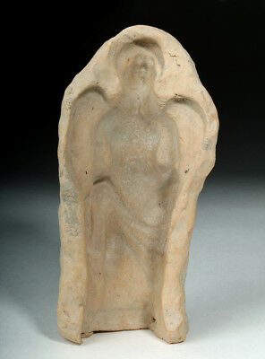 ARTEMIS GALLERY Hellenistic Greek Earthenware Mold - Winged Erote