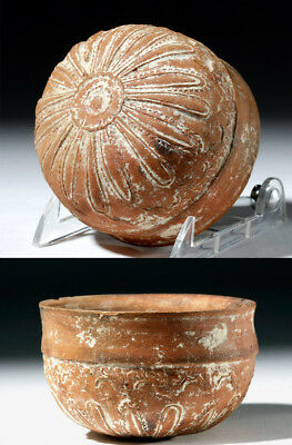 ARTEMIS GALLERY Hellensitic Greek Megarian Molded Pottery Cup