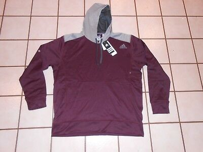 3e173bcce055 ADIDAS PERFORMANCE MENS Ultimate Fleece Pullover Hoodie Size S ...