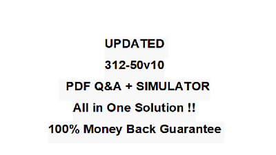 312-50v10 Certified Ethical Hacker Exam (C|EH v10) Test  QA PDF&Simulator
