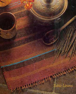 Handwoven's Design Collection 2: table linens mats