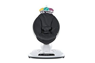 4moms mamaRoo 4 infant seat – Classic Black (Newest Model USED in Retail Box)