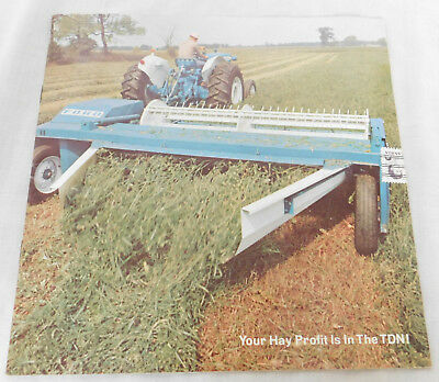 1968 Ford Tractors And Equipment Haying Brochure Sealed! 15 Pages