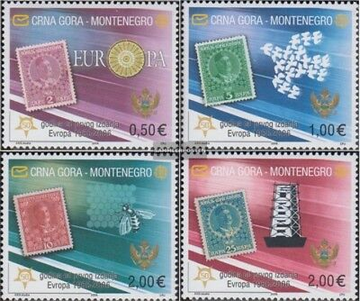 Montenegro 108I-111I (complete issue) unmounted mint / never hinged 2006 50 year