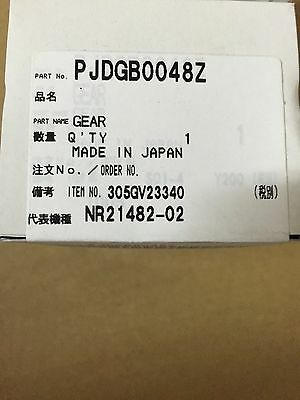 Panasonic PJDGB0048Z GEAR FOR DP190 KXP 7100 7105 7110 7305 7310 UF 6950 8200