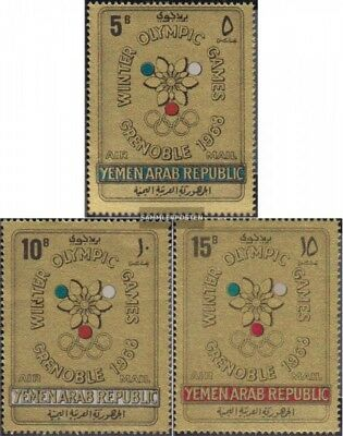North Yemen (Arab republic.) 613-615 (complete issue) unmounted mint / never hin