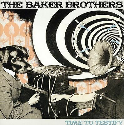 The Baker Brothers - Time To Testify New Cd
