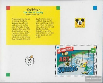 St. Vincent Block243 (complete issue) unmounted mint / never hinged 1992 Walt-Di