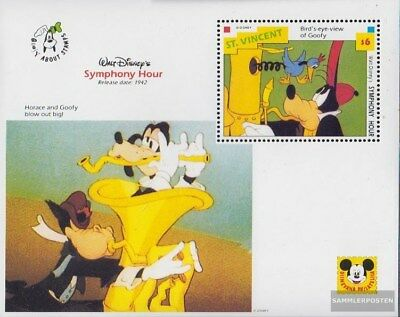 St. Vincent block248 (complete issue) unmounted mint / never hinged 1992 Walt-Di