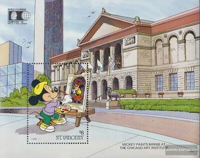 St. Vincent block207 (complete issue) unmounted mint / never hinged 1992 Walt-Di