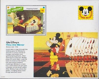 St. Vincent block252 (complete issue) unmounted mint / never hinged 1992 Walt-Di
