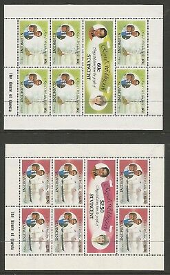 ST VINCENT 1981 ROYAL WEDDING (3 x Sheetlets), S.G 668a-672a  MNH**