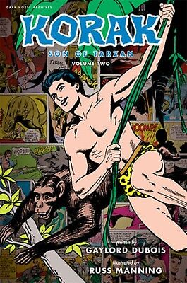 Korak, Son of Tarzan Volume 2 Hardcover Book - Dark Horse Archives - Damaged