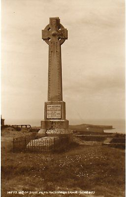 FLORA MACDONALD GRAVE, ISLE OF SKYE * 1950's * LOVELY VINTAGE VIEW*(133)