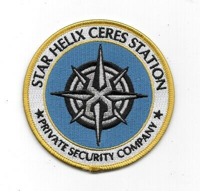 The Expanse TV Series Star Helix Security Company Logo Embroidered Patch UNUSED