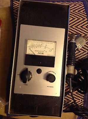SONICATOR II ULTRASONIC GENERATOR ME 702 VINTAGE As Is