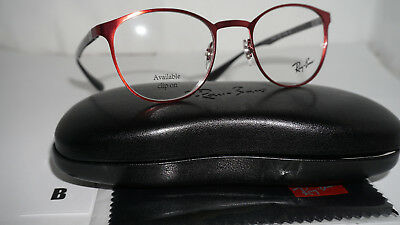 204732b2cc RAY BAN FRAME RX Eyeglasses New Bordeaux RX6355 2922 47 20 145 ...