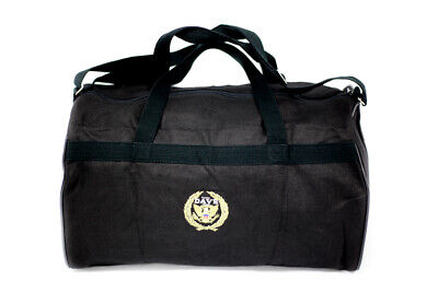 New Dave Black Tote Traveler Duffel Boarding Bag Plane Carry On Item Fit Luggage