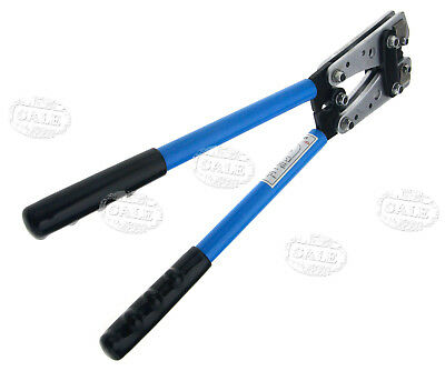 Hand Crimper 6-50 mm² Crimp Tube Terminal Wire Crimping Battery Cable Lug
