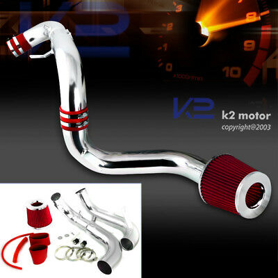 For 2006-2011 Honda Civic DX LX EX 1.8L L4 Cold Air Intake+Red Filter