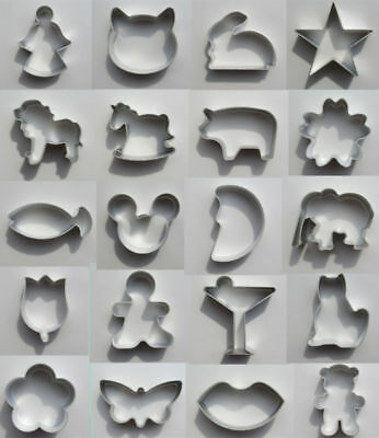 NEW Tin Baking 37 DIY Biscuit/Cookie/Cake/Jelly Metal Cutter Mould Shapes Tool