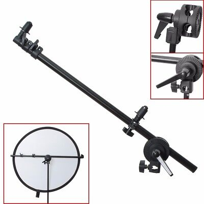 Phot-R 175cm Collapsible Studio Reflector Holder Boom Arm Grip Photo Light Stand