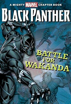 Black Panther: The Battle for Wakanda (A Mighty Marvel Chapter Book) by Snid…
