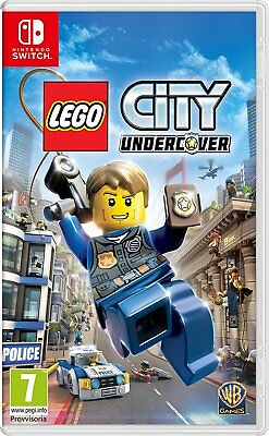 Lego City Undercover Nintendo Switch Game BRAND NEW SEALED
