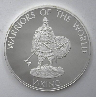 Congo Dem. Rep. 2010 10F Warriors Of The World - Viking - Perfect Proof Dcam