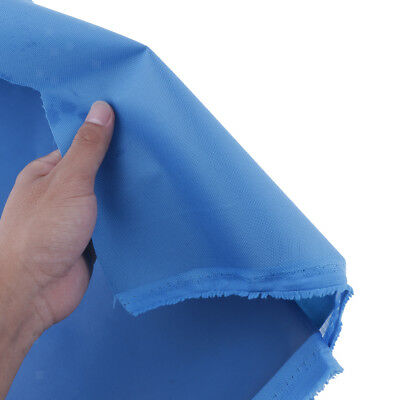 Heavy-Duty 600 Denier Oxford Canvas Fabric Waterproof Outdoor Cover Fabric Blue