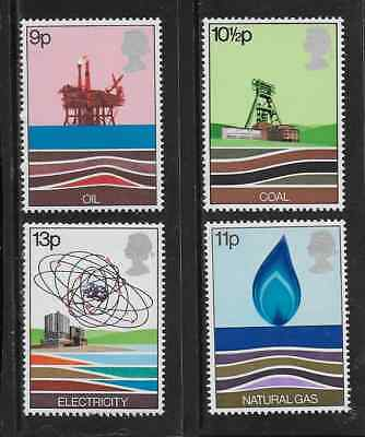 GREAT BRITAIN -1978- Energy Resources - MNH Set of 4 Stamps - Scott #827-30