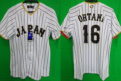 quality design 82d73 4a1d7 2017 SAMURAI JAPAN Jersey Shirt WBC World Baseball Classic Mizuno Ohtani  #16 O