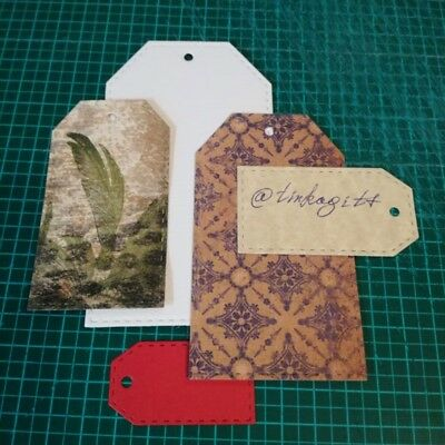 Tga Frame Cutting Dies Stencil DIY Scrapbooking Embossing Album Paper Card Craft