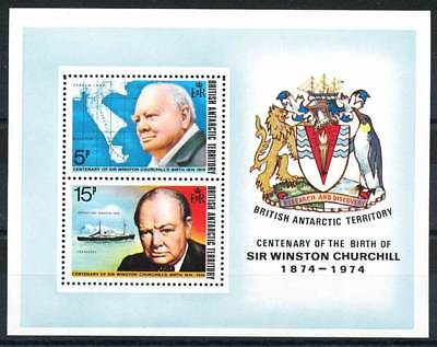 611820) brit. Antarktis Geb. Block 1** Churchill