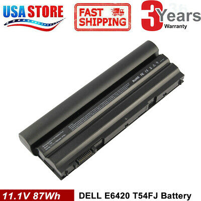 6/9 Cell Battery for Dell Latitude NHXVW E5420 E5430 E5520 E5530 E6420 E6430 US