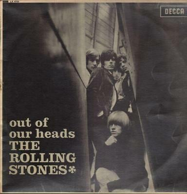 The Rolling Stones(Vinyl LP)Out Of Our Heads-Decca-LK 4733-UK-1965-VG+/Ex+