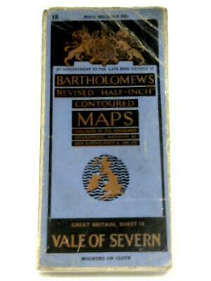 "Bartholomew's Revised ""Half-Inch"" Contoured Maps: Vale Of (Anon - ) (ID:03347)"