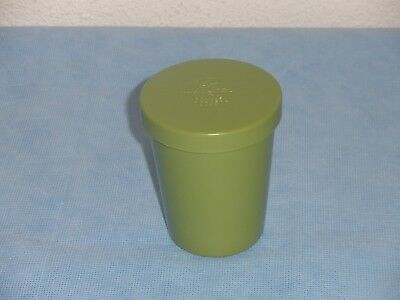 Vintage Get Acquainted Stanley Hostess Party Green Nesting Cup with Lid