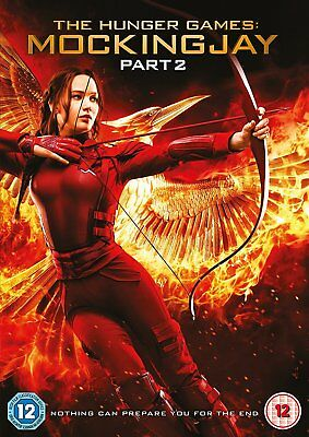 THE HUNGER GAMES Mockingjay Part 2 DVD NEW 2015