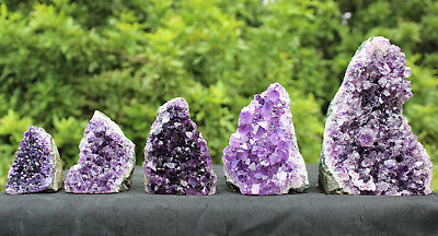 Amethyst Druze Crystal Cluster Cut Base Natural Goede Specimen: You Choose Size!